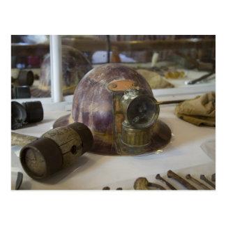 Bodie Miner's Helmet Postcard