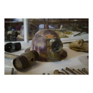 Bodie Miner's Helmet Print