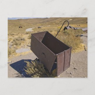 Bodie Mining Cart Post Cards