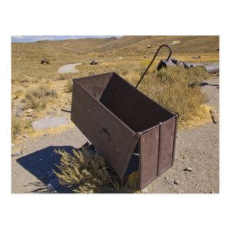 Bodie Mining Cart Postcard