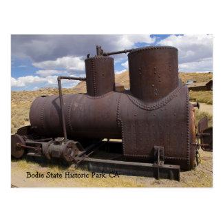 Bodie Mining Equipment Postcard