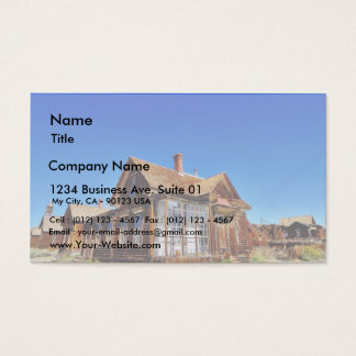 Bodie Streets Business Card