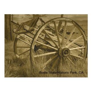 Bodie Wagon Wheel 1 Postcard