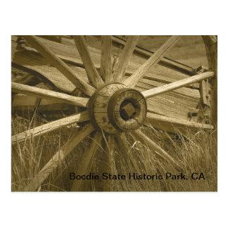 Bodie Wagon Wheel 2 Postcard