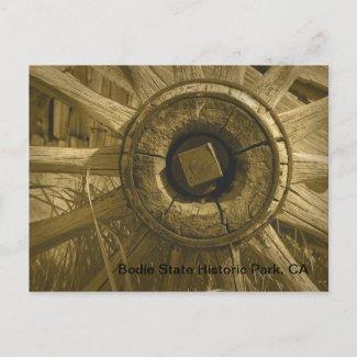 Bodie Wagon Wheel 3 postcard
