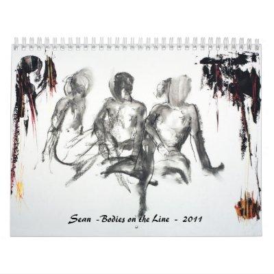 Bodies on the Line  - 2011  - Sean Calendars