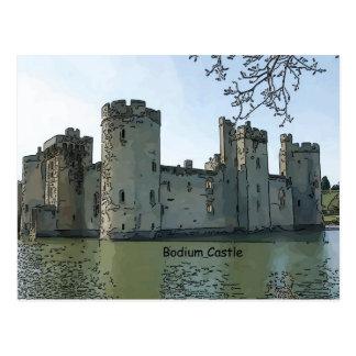 Bodium Castle Postcard