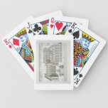 Bodleian Library, Oxford, from 'Oxonia Illustrata' Bicycle Playing Cards