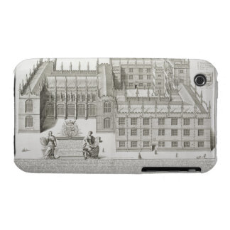 Bodleian Library, Oxford, from 'Oxonia Illustrata' Case-Mate iPhone 3 Case
