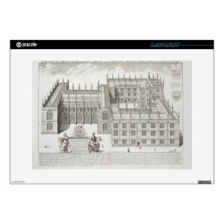 Bodleian Library, Oxford, from 'Oxonia Illustrata' Decals For Laptops