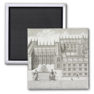 Bodleian Library, Oxford, from 'Oxonia Illustrata' Magnet