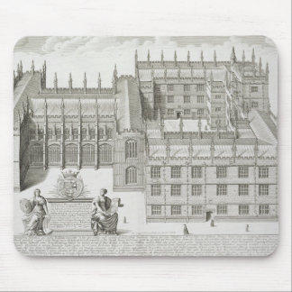 Bodleian Library, Oxford, from 'Oxonia Illustrata' Mouse Pad