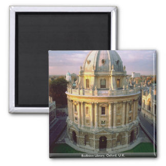 Bodleian Library, Oxford, U.K. 2 Inch Square Magnet