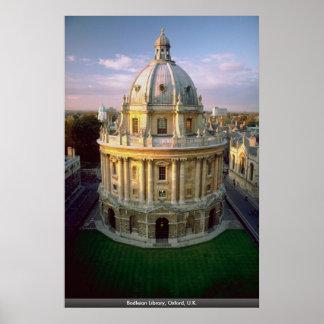Bodleian Library, Oxford, U.K. Poster