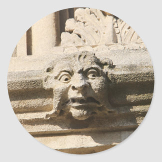 Bodleian library round sticker