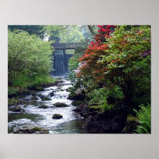Bodnant Gardens North Wales U.K Poster