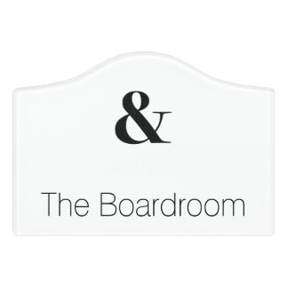 bodoni oldstyle 72 bold door sign