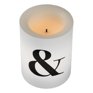 bodoni oldstyle 72 bold flameless candle