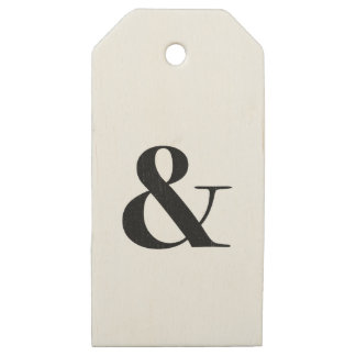 bodoni oldstyle 72 bold wooden gift tags
