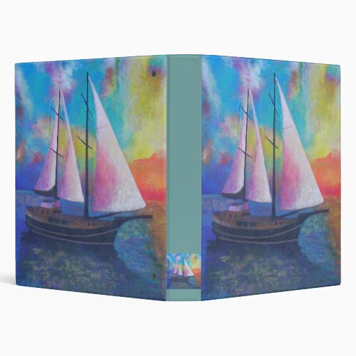 Bodrum Gulet Cruise Vinyl Binder
