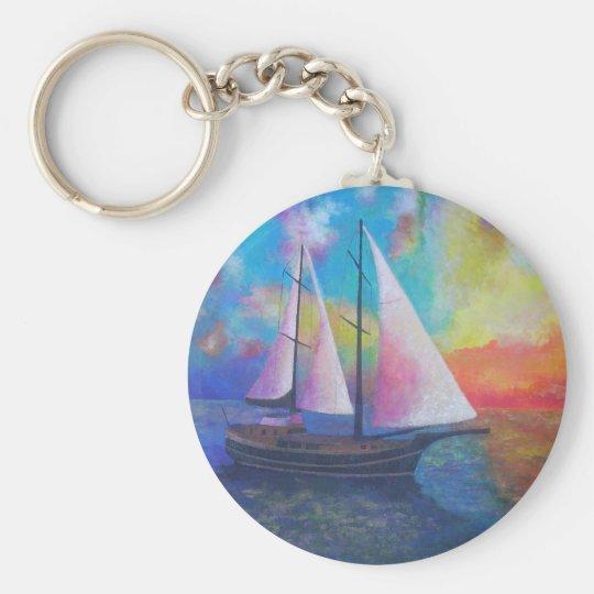 Bodrum Turquoise Coast Gulet Cruise Keychain