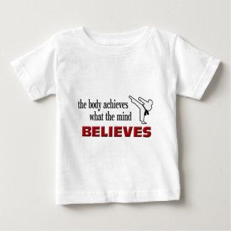 Body Achieves, Mind Believes Baby T-Shirt
