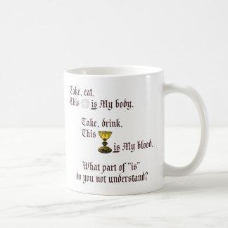 Body and Blood Coffee Mug