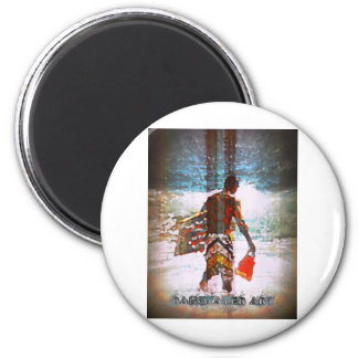 Body Boarder Sandys 2 Inch Round Magnet