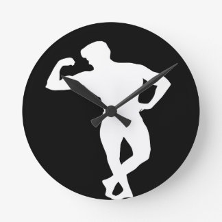 Body builder 3 round clock