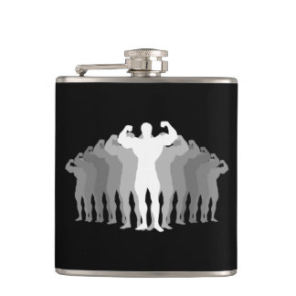 Body Builder Hip Flask