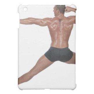 Body Builder in Lunge Pose iPad Mini Cases