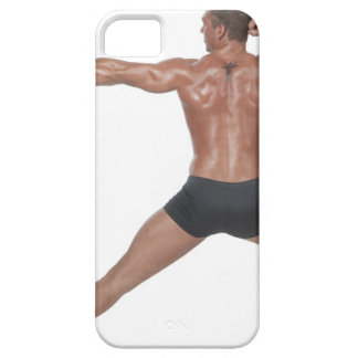 Body Builder in Lunge Pose iPhone SE/5/5s Case