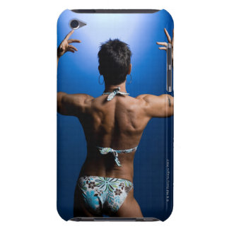 Body builder posing iPod touch cover