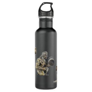 Body Builder Stainless Steel Water Bottle