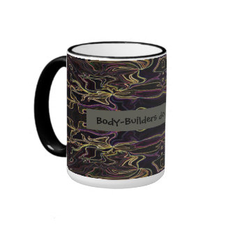 Body-builders do it with muscle ringer mug