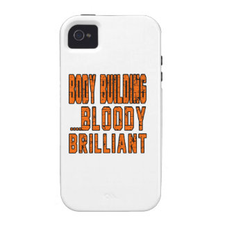 Body Building Bloody Brilliant Case For The iPhone 4