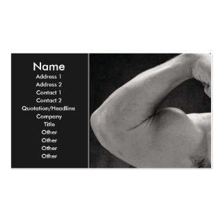 Body Building Business Card