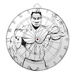 body-building dartboard