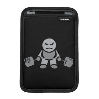 """Body building"" Deadlift Cartoon iPad Mini Sleeve"