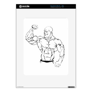 body-building decal for the iPad