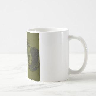Body Building Fitness Pencil Sketch Coffee Mug
