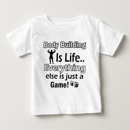 Body Building Gift Designs Baby T-Shirt