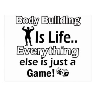 Body Building Gift Designs Postcard
