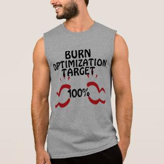 Body building gym humor sleeveless shirt