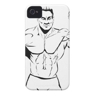 body-building iPhone 4 cover