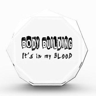 Body building It s in my blood Award