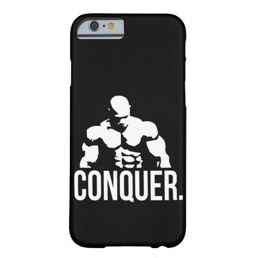 """""""Body building"""" Motivation - Conquer Barely There iPhone 6 Case"""