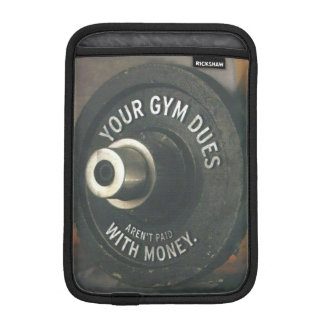 """Body building"" Motivational Sleeve For iPad Mini"