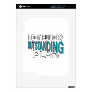 BODY BUILDING OUTSTANDING PLAYER iPad 2 DECALS