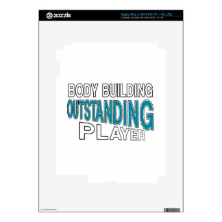 BODY BUILDING OUTSTANDING PLAYER iPad 3 SKIN